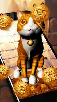 3D Kitty Theme apk screenshot