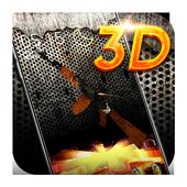 Gun 3D Theme icon