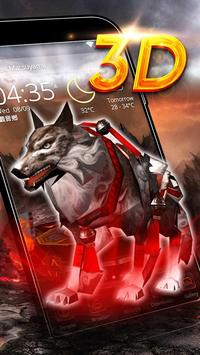 Wolf 3D Theme poster