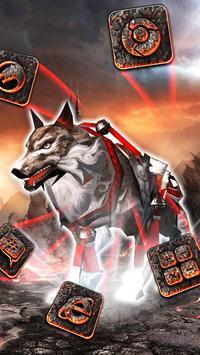 Wolf 3D Theme apk screenshot