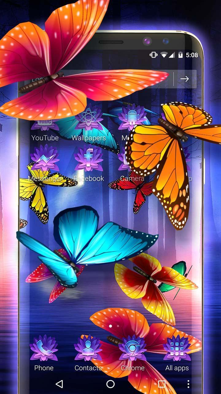 Бабочка Иконка прозрачности и прозрачности, Милая бабочка, 3D ... | 1280x720