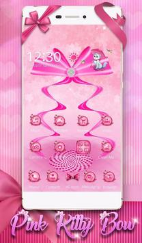 3D switch Pink Color Cute Bow Theme (FREE) poster