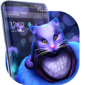 Cute Kitty - Purple Dreamy Launcher icon