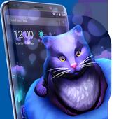 Cute Kitty - Purple Dreamy Launcher icon