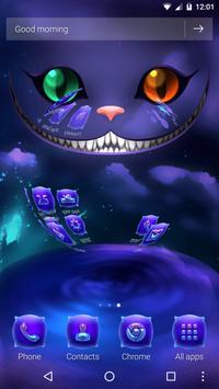 Cute Kitty - Purple Dreamy Launcher screenshot 7