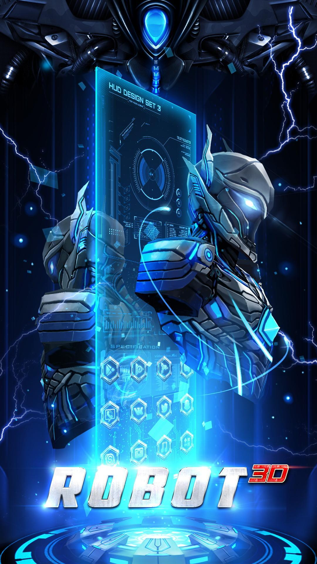 3D Transformation Robot Theme For Android APK Download