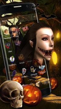 Halloween Night theme screenshot 1