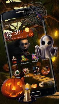 Halloween Night theme screenshot 2