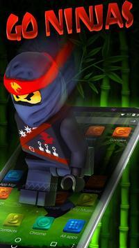 Go Ninja Theme screenshot 3