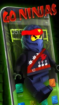 Go Ninja Theme poster
