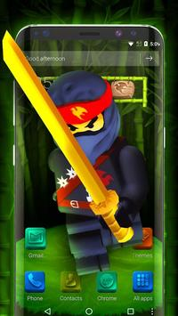 Go Ninja Theme screenshot 1