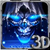 3D Grim Reaper icon