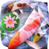 Koi Fish 3D Animated Live Theme icon