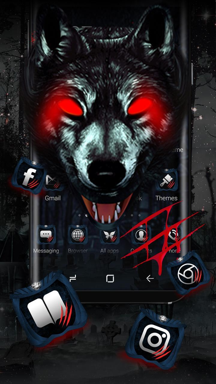 3D Ice Wolf Launcher Theme For Android APK Download