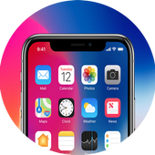 Phone X Launcher,iLauncher OS 11  & Control Center icon