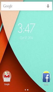 Lollipop Launcher screenshot 1