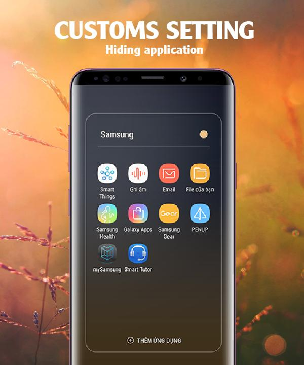 Super S9 Lancher : Galaxy S9+ Theme for Android for Android