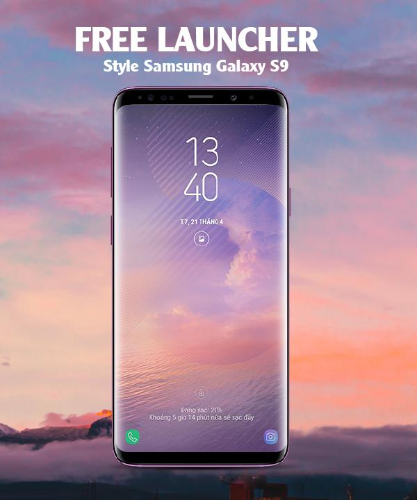 Super S9 Lancher : Galaxy S9+ Theme for Android for Android - APK