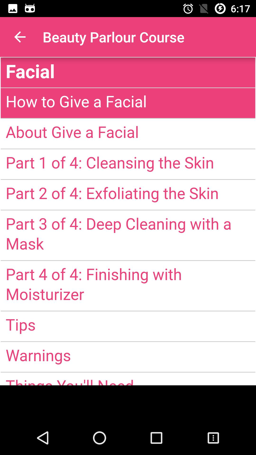 Beauty Parlour Course for Android - APK Download
