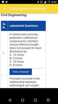 Civil Engineer Handbook screenshot 1