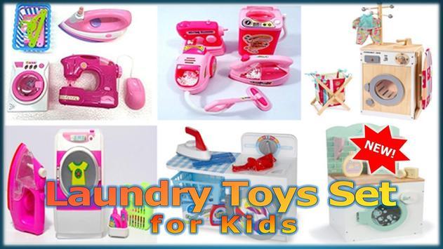 Laundry Toys Set for Kids apk screenshot