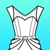 Fashion Design Flat Sketch 圖標