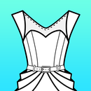 Fashion Design Flat Sketch APK Android