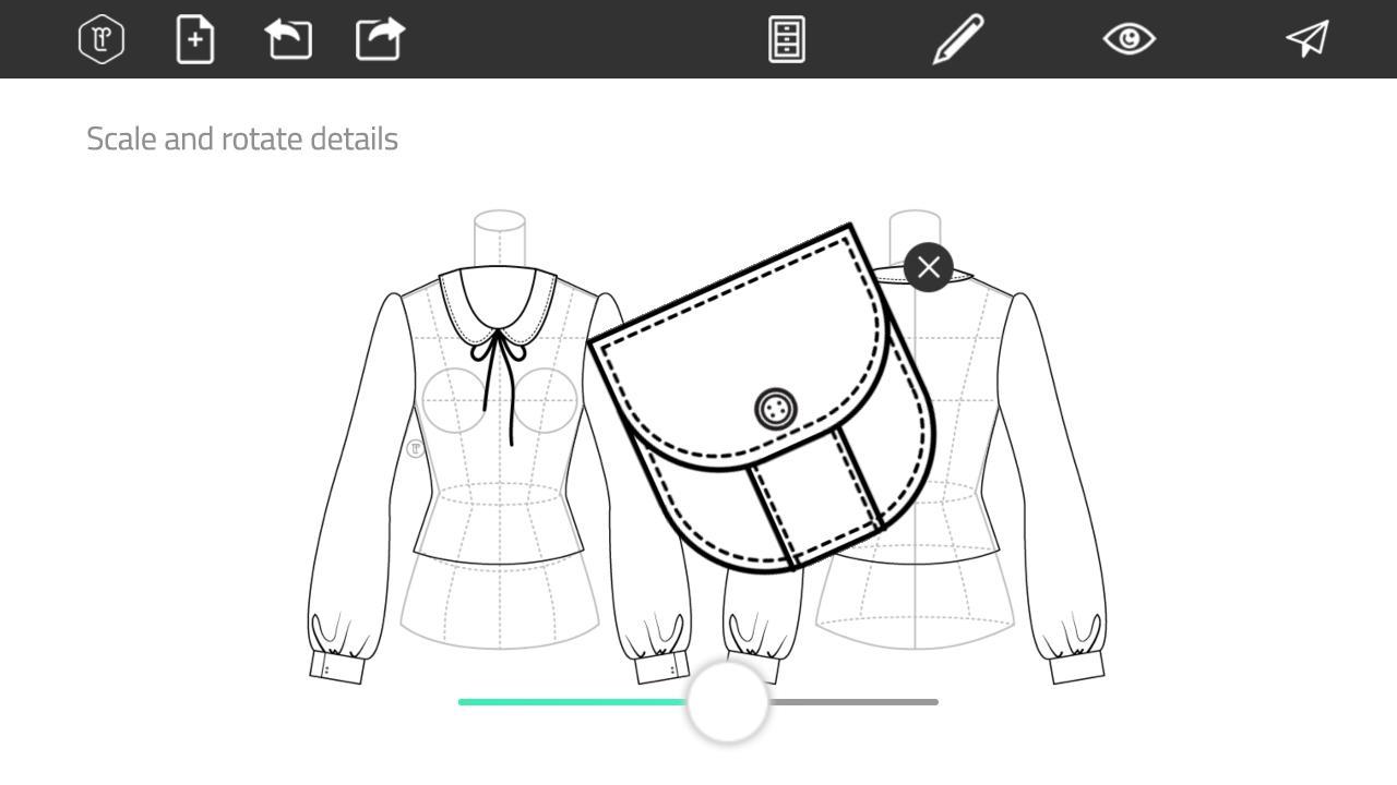 Aplikasi gratis android Fashion Design Flat Sketch