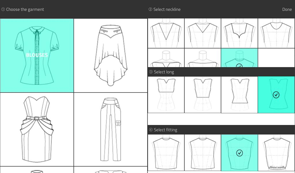 Fashion Design Flat Sketch For Android Apk Download