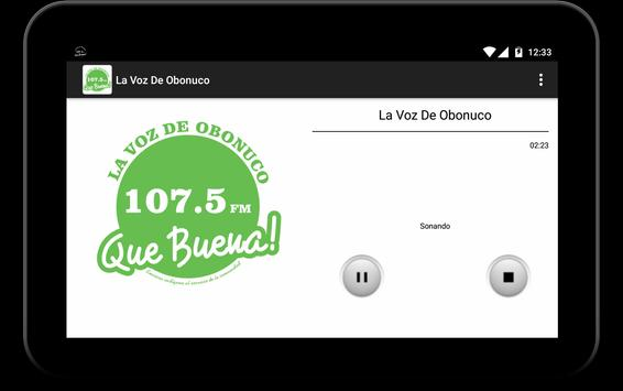La Voz De Obonuco apk screenshot