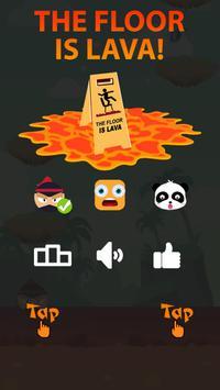 The Floor is Lava Challenge - Floor is Lava 2 poster