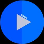 Stunt - Video player icon