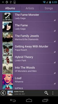 Fusion Music Player الملصق