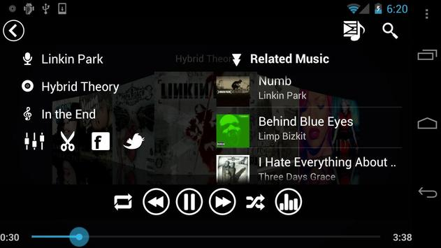 Fusion Music Player скриншот 7