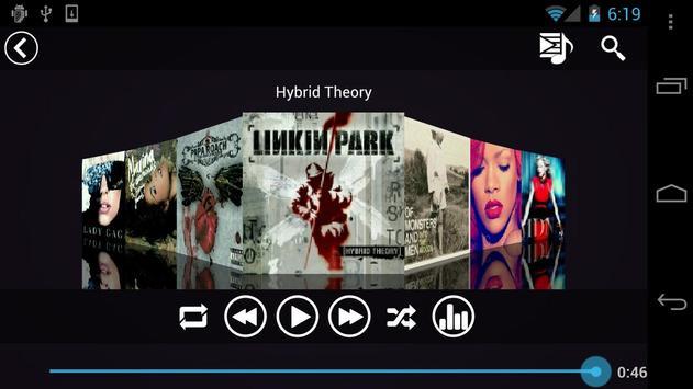 Fusion Music Player capture d'écran 6