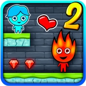 Red Boy And Blue Girl Adventure 2 icon