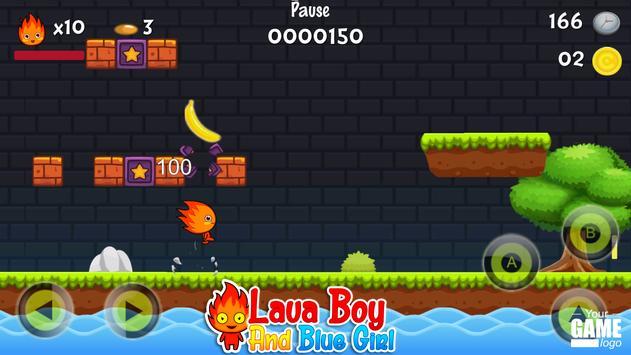 Red Boy And Blue Girl Adventure 2 screenshot 2