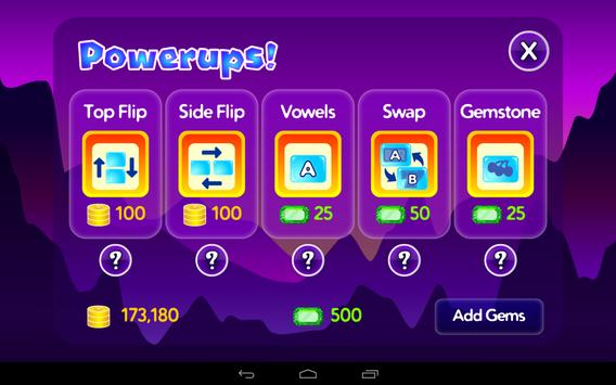 Spell Gems apk screenshot