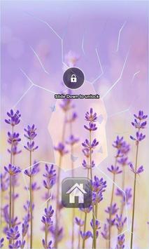 Lavender Lock Screen apk screenshot