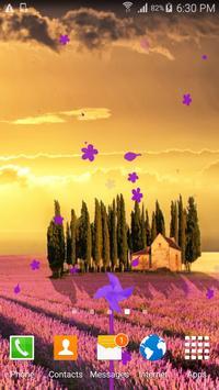 Lavender Live Wallpaper poster