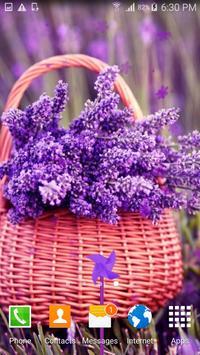 Lavender Live Wallpaper apk screenshot