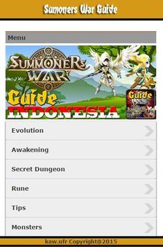 Guide Summoners War Indonesia poster
