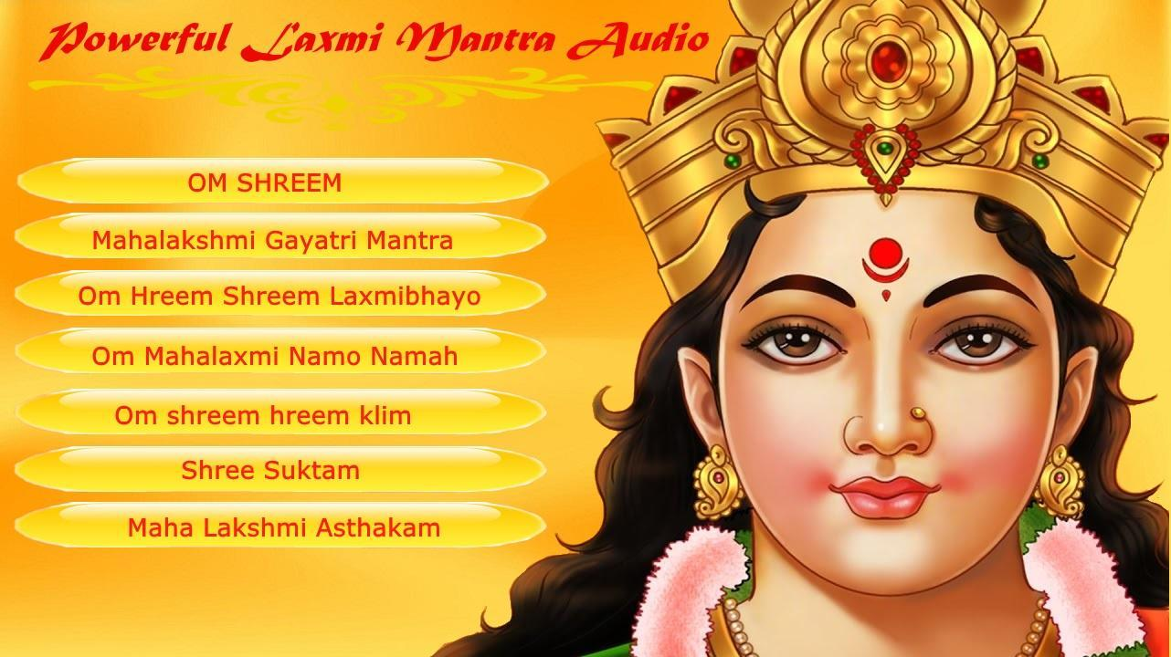 Free Download Shri Mahalaxmi Mantra Mp3