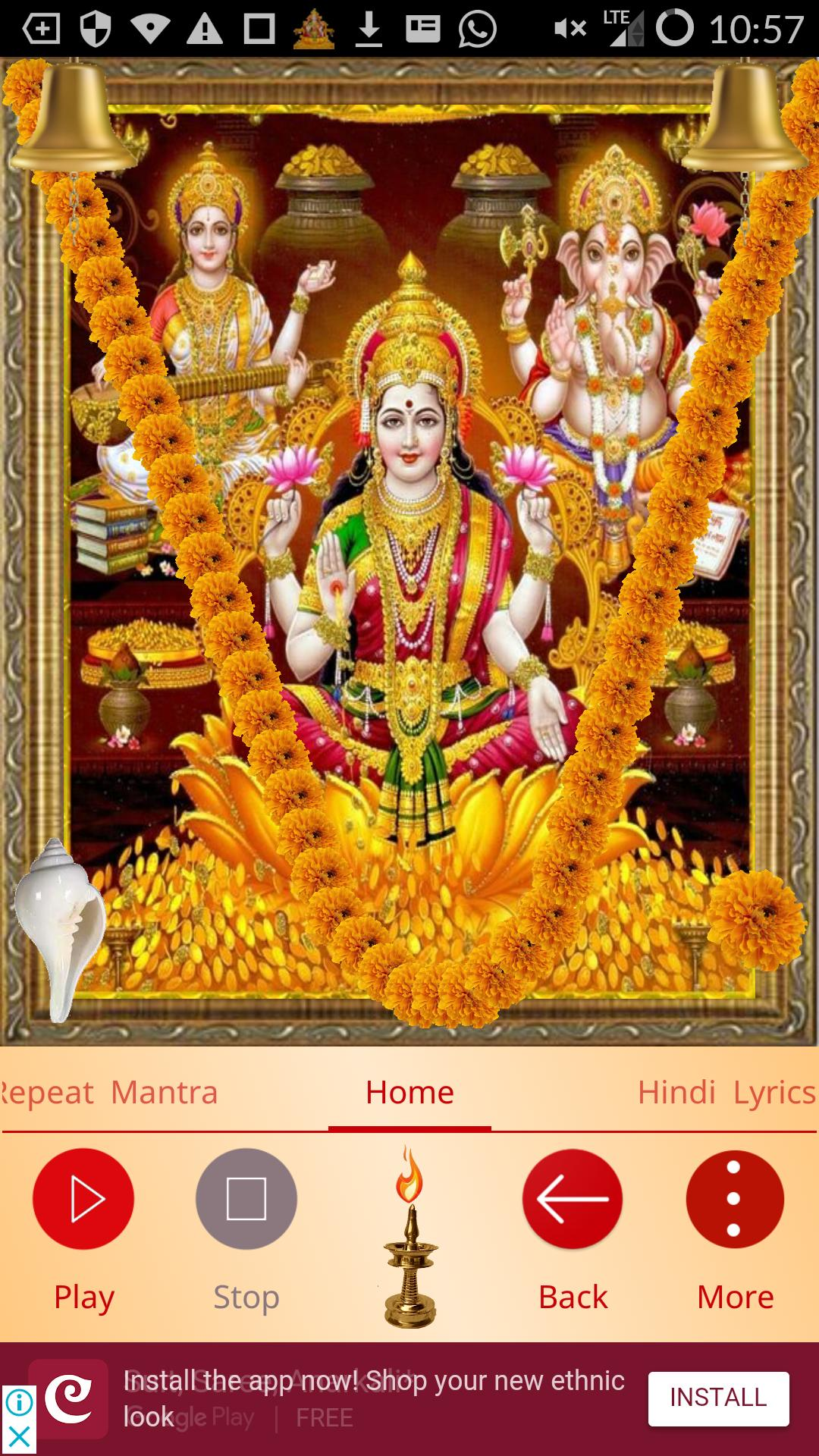 Powerful Mahalakshmi Mantra for Wealth for Android - APK Download