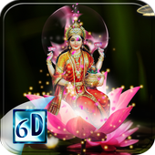 Laxmi Maa Live Wallpaper icon