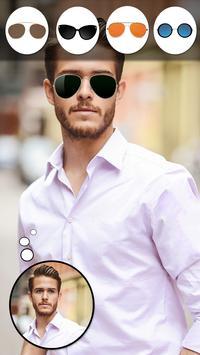 Man Sunglasses Photo Editor poster