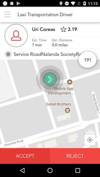 Laxi Transportation Driver screenshot 2