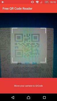 Free QR Code Reader poster