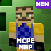 Icona Map Hello Neighbor for MCPE