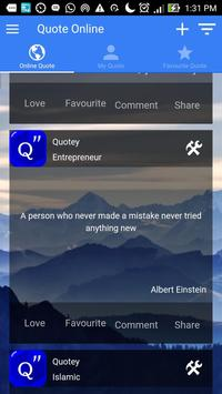 Quotey - Everyday Quotes poster